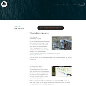 Citizen Flood Detection Network About