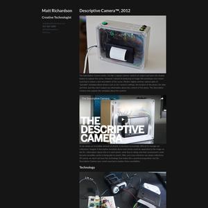 Descriptive Camera Project