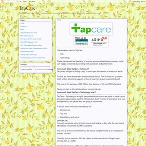 TapCare Cost