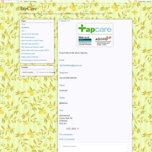 TapCare Contact