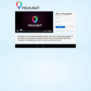 Visualight Login