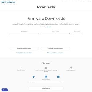 Thingsquare Downloads