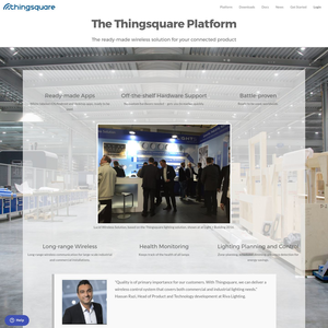 Thingsquare Platform