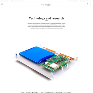 Visionect Technology & Research