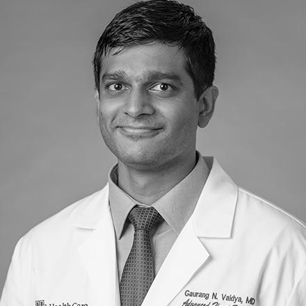 Prof Gaurang Vaidya MdD, FAAC.