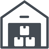 multiwarehouse feature icon