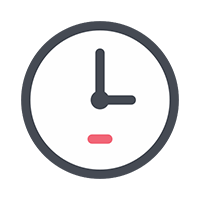 time and attendance feature icon