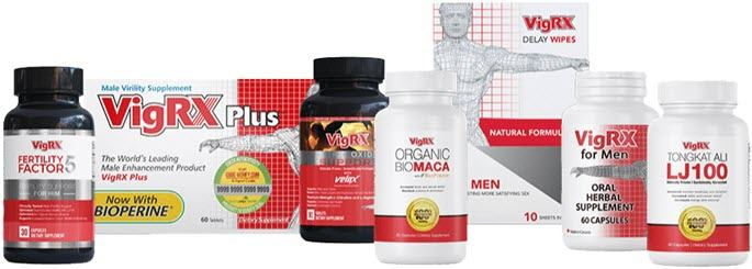 Leading VigRX Products for Men