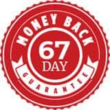 67-day money-back guarantee