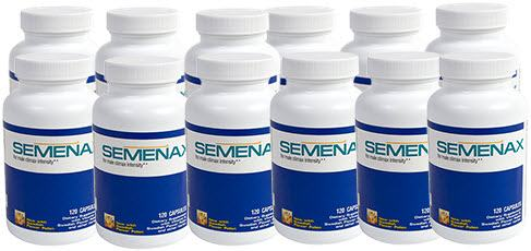Semenax Volume Enhancer Pills 12 Bottles
