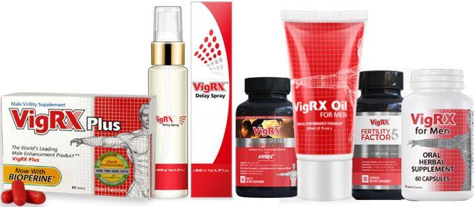 Best VigRX Products For Men