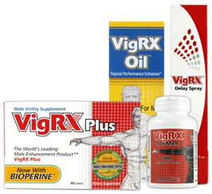 VigRX Products Improve Male Sexual Health