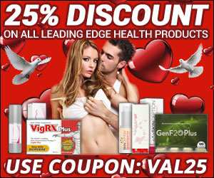 25% Discount on all Leading Edge Health Products