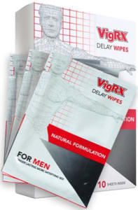 VigRX Delay Wipes For Men