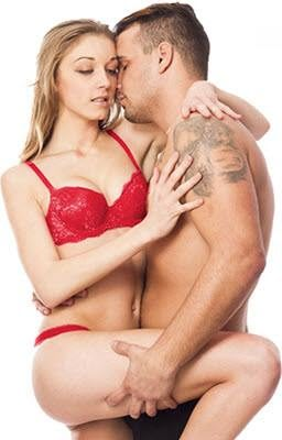 Sexy Young Couple In Love