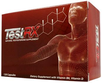 TestRX Natural Testosterone Supplement