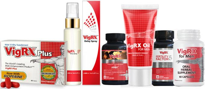 Best VigRX Products For Men