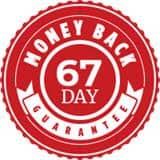 67-day money-back guarantee