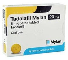 Tadalafil Mylan (generic Cialis) 5mg, 10mg & 20mg online