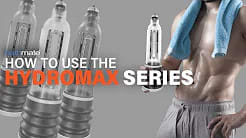 Video on how to use the Hydromax Series
