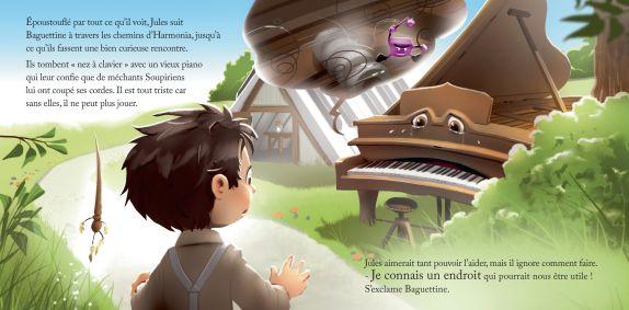 Jules et le monde d'Harmonia, Le Piano 5