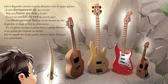 Jules et le monde d'Harmonia, La Guitare 6