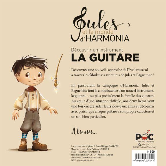 Jules et le monde d'Harmonia, La Guitare 7