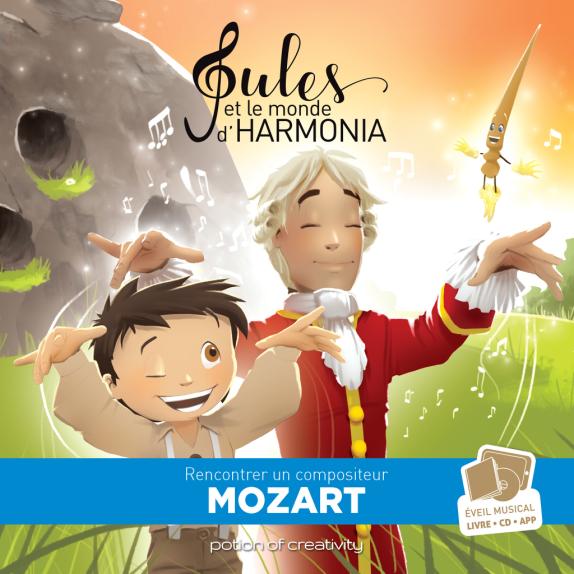 Jules et le monde d'Harmonia, Mozart 2
