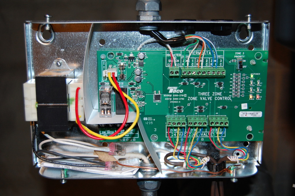 ZVC4034 Taco ZVC4034 3 Zone Valve Control Module with Priority