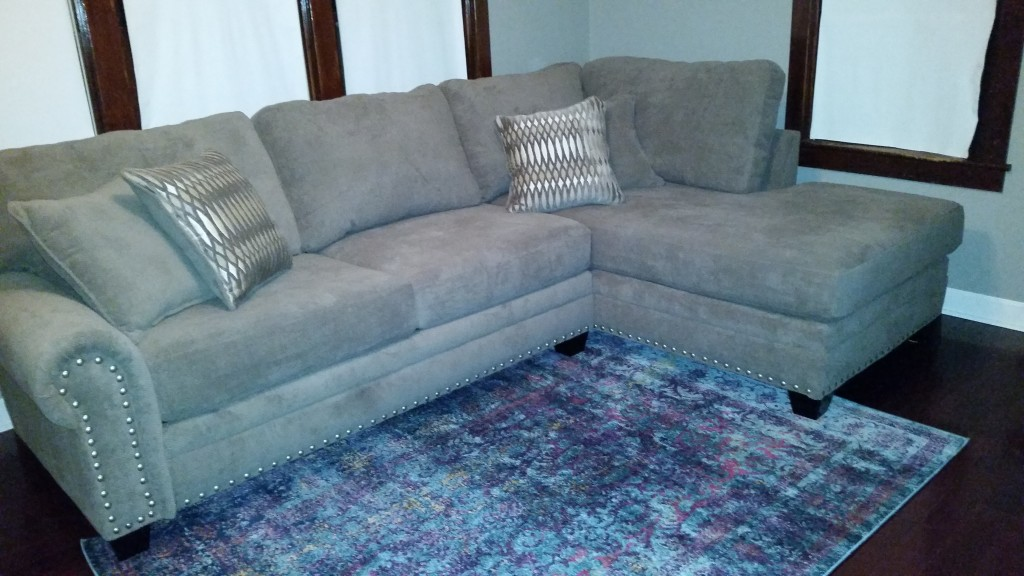 Oates 2 Piece Modular Sectional   HOM Furniture   Furniture Stores in  Minneapolis Minnesota   Midwest. Oates 2 Piece Modular Sectional   HOM Furniture   Furniture Stores