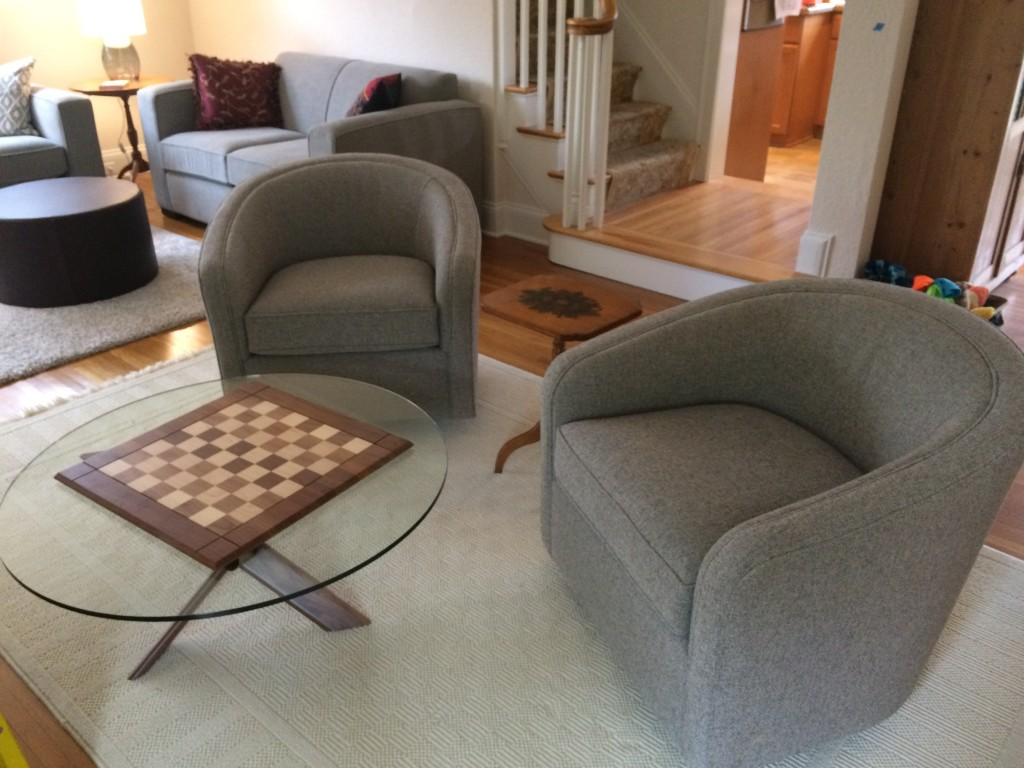 Amos Swivel Chair - Modern Accent & Lounge Chairs - Modern Living ...