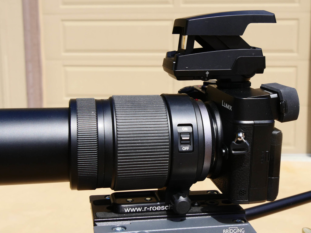 how to use the olympus ee-1 dot sight