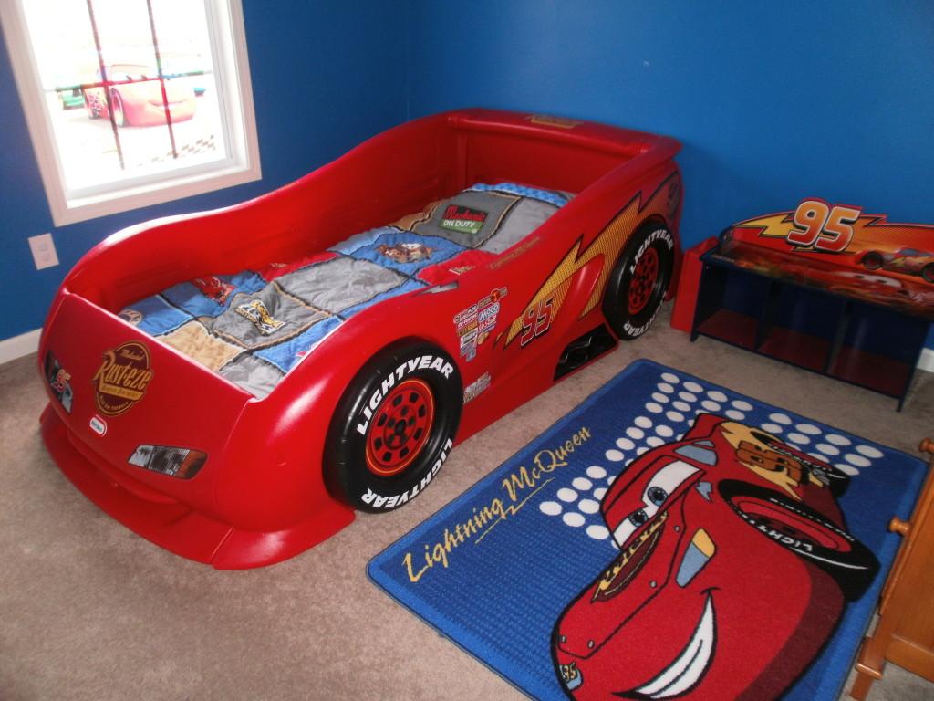 Little tikes lightning mcqueen toddler bed - Little Tikes Lightning Mcqueen Toddler Bed 14