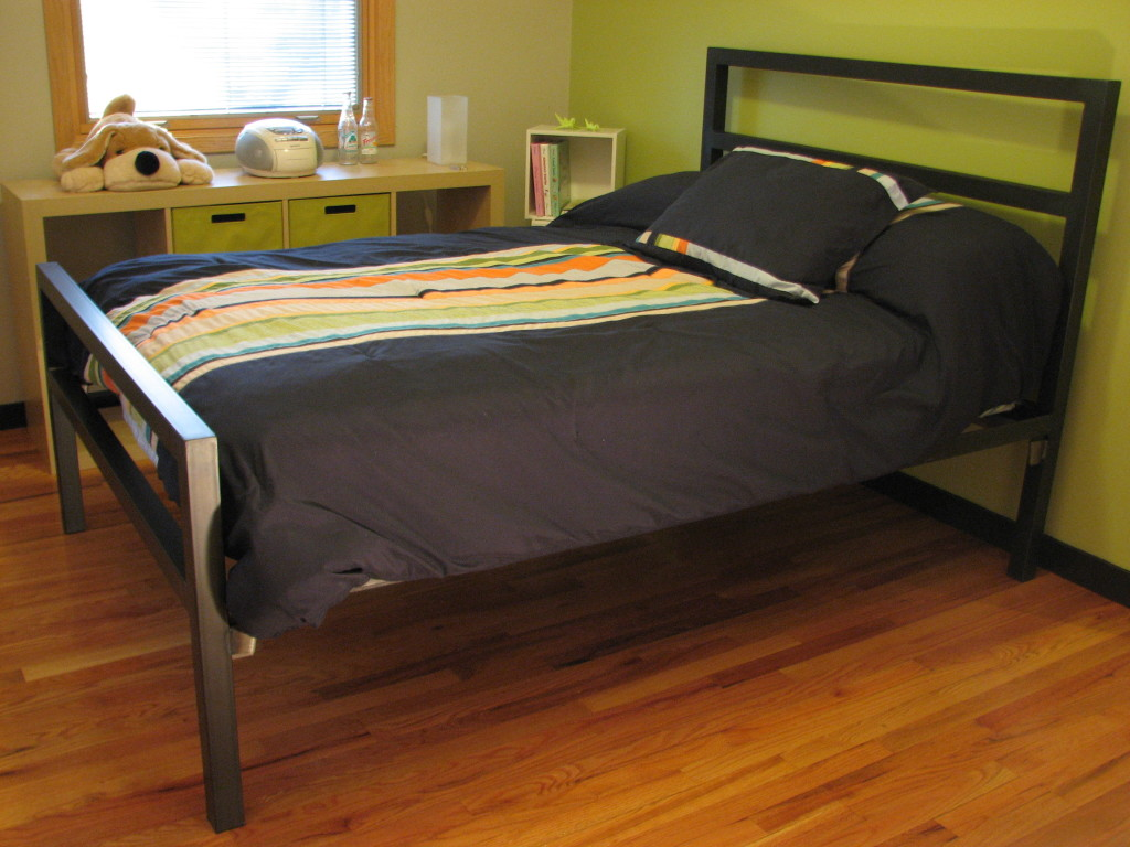 Parsons Natural Steel Bed - Modern Beds & Platform Beds - Modern Bedroom  Furniture - Room & Board