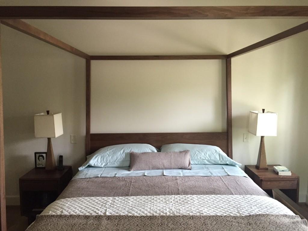 Hale Wood Canopy Bed - Modern Beds & Platform Beds - Modern ...
