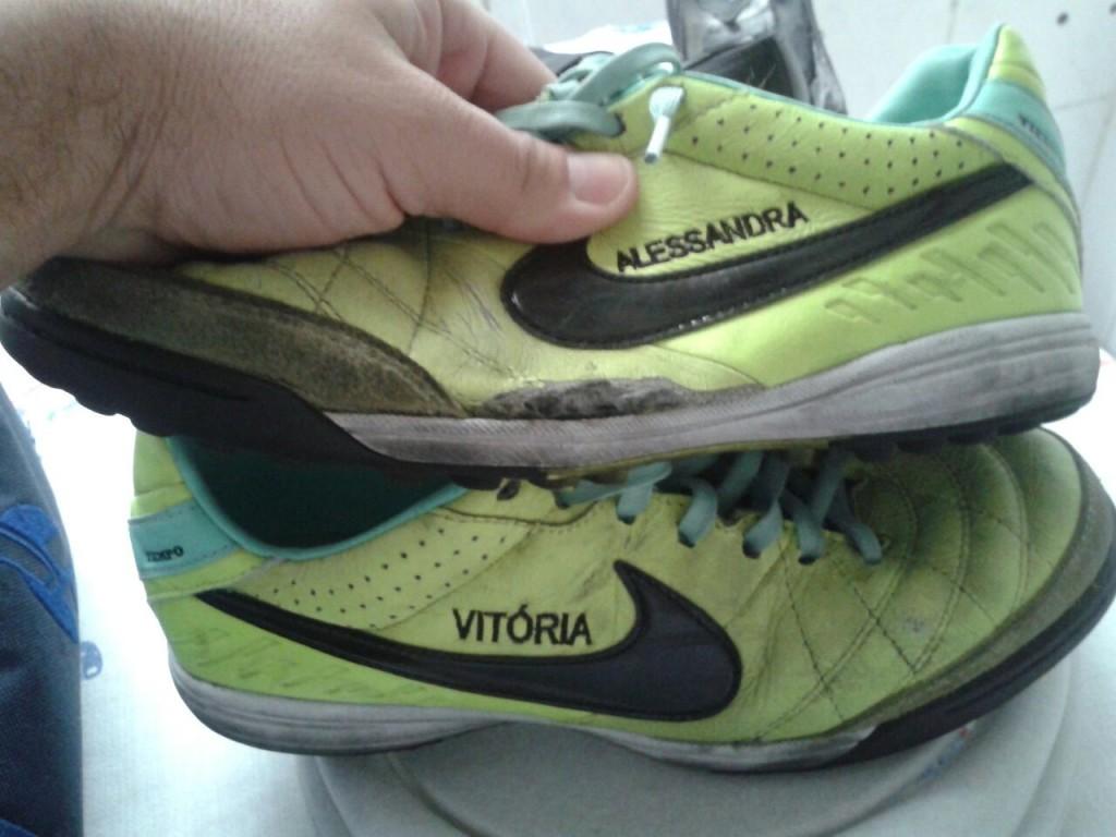Chuteira Nike Tiempo Mystic IV Society  2d4feb76b4a85