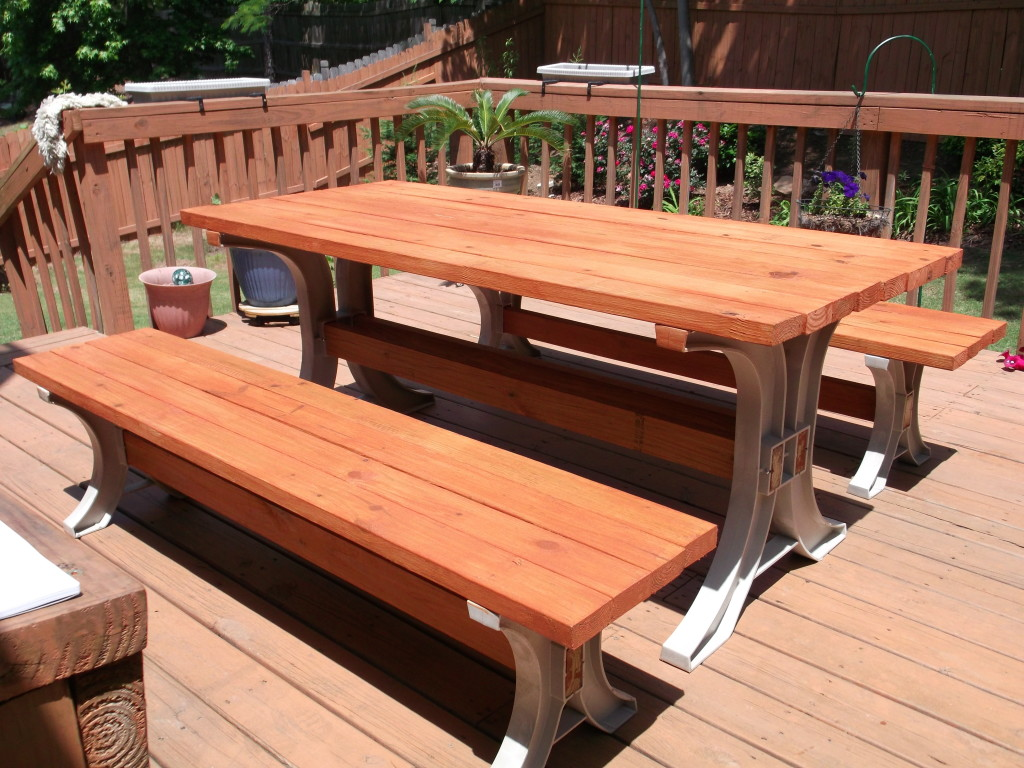 strong and sturdy - Picnic Table Kit