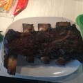 Beef ribs after