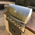 Blaze BLZ-5LTE2-NG LTE 40-Inch 5-Burner Built-In Natural Gas Grill With Rear Infrared Burner & Grill Lights