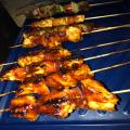 Nice cooked shish kebabs