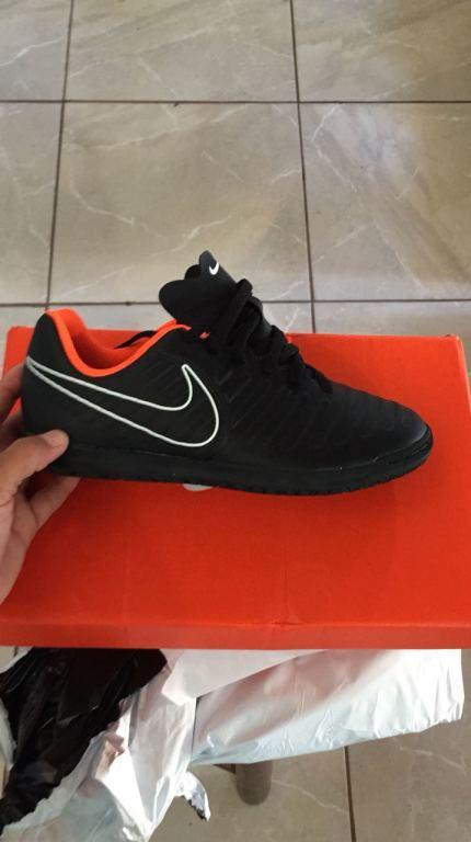 Chuteira Nike Tiempo Legend VII Club Futsal Infantil  2599011ca5caf