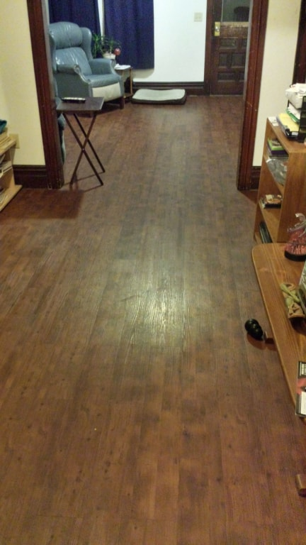 2mm King County Knotty Oak Resilient Vinyl Tranquility