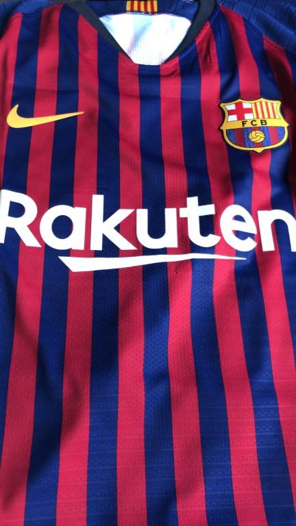 b028390788436 Camisa Nike Barcelona I 2018 2019 Jogador Masculina