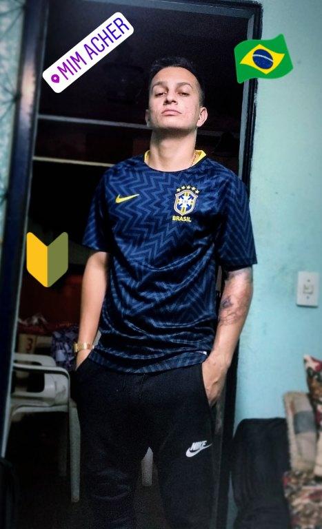 c25d2debb6 Camisa Pré-Jogo Nike Brasil Masculina