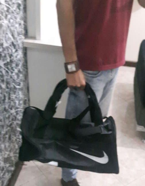 44f693358 Bolsa Nike Alpha Duffel Small   Nike