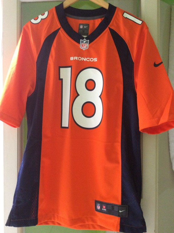 Camisa Futebol Americano Nike Denver Broncos Masculina (Demaryius Thomas)  2e184d07b6bab