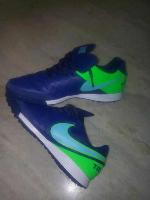 Chuteira Nike TiempoX Mystic V Society  10f131415fa03