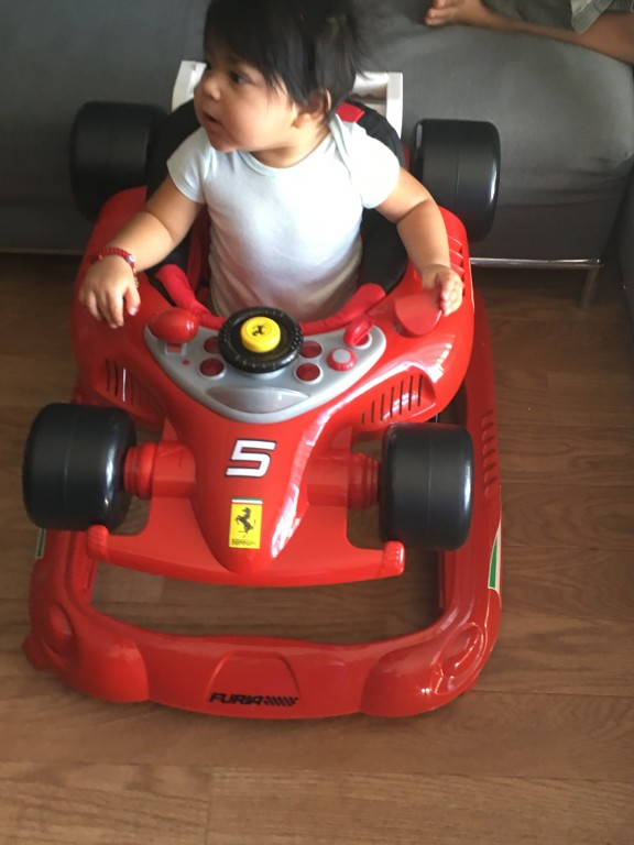 Ferrari F Baby Walker Red BabiesRUs - Map rug babys r us