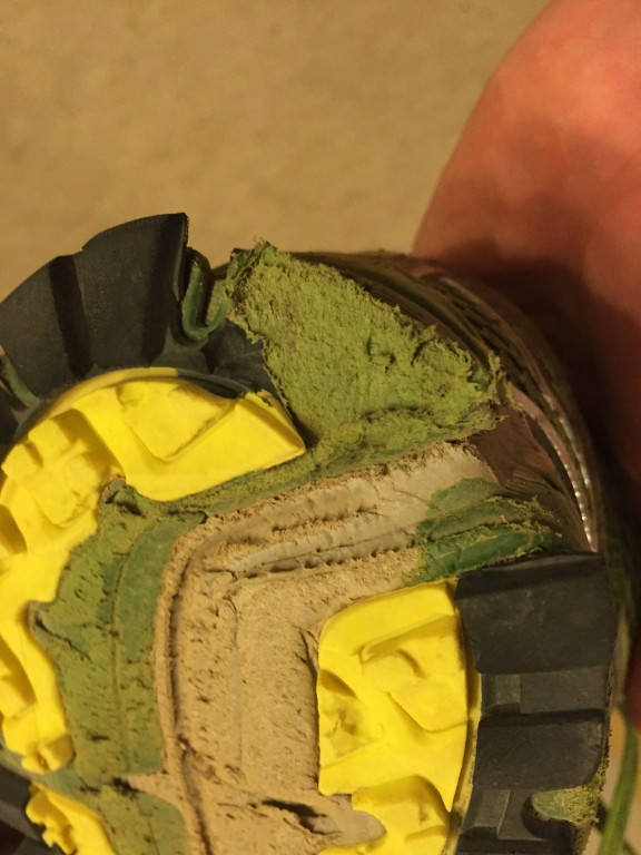 Shoe Fell Apart New Return