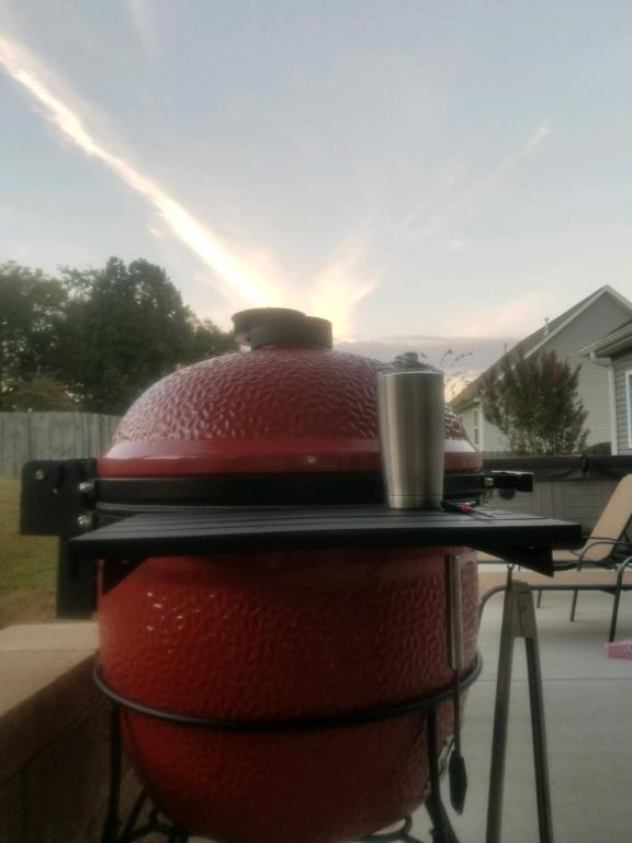 Kamado Joe 2017 Big Joe 24 Inch Freestanding Ceramic Grill